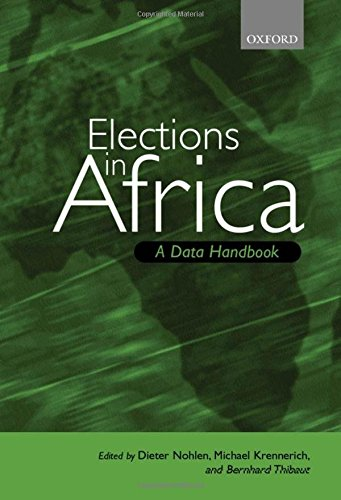 9780198296454: Elections in Africa: A Data Handbook