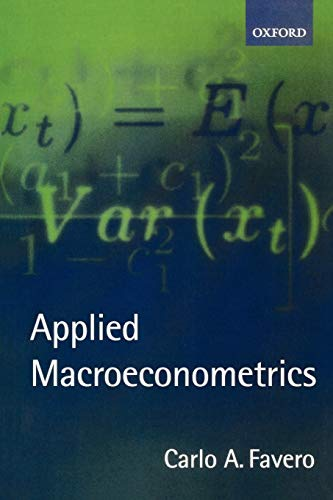 9780198296850: Applied Macroeconometrics