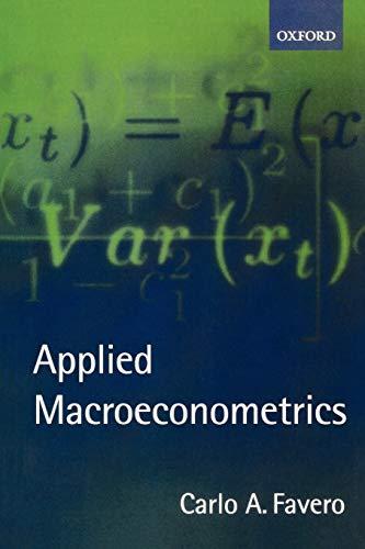 9780198296850: Applied Macroeconometrics