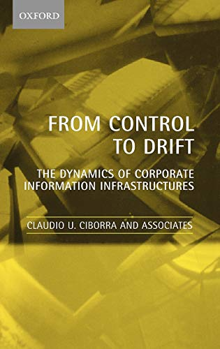 9780198297345: From Control to Drift: The Dynamics of Corporate Information Infrastructures