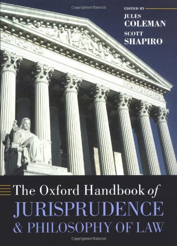 9780198298243: The Oxford Handbook of Jurisprudence and Philosophy of Law