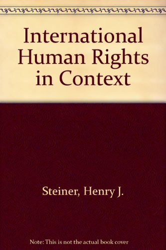 9780198298489: International Human Rights in Context: Law, Politics, Morals