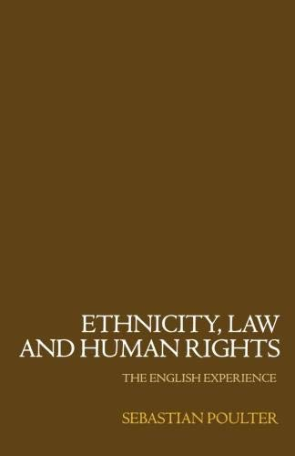 9780198298694: Ethnicity Law Human Rights P