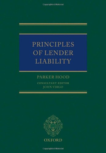 9780198299035: Principles of Lender Liability