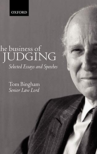 9780198299127: The Business of Judging: Selected Essays and Speeches