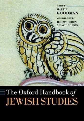 9780198299967: The Oxford Handbook of Jewish Studies (Oxford Handbooks)