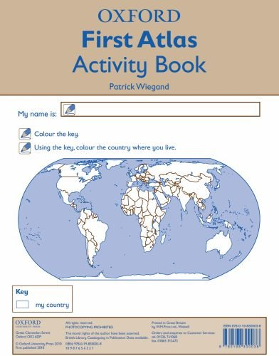 9780198300038: Oxford First Atlas Activity Book