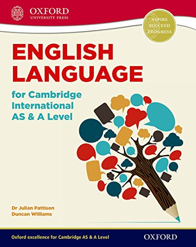 9780198300120: English Language for Cambridge International AS & A Level