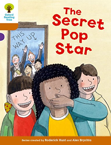 9780198300366: Oxford Reading Tree Biff, Chip and Kipper Stories Decode and Develop: Level 8: The Secret Pop Star