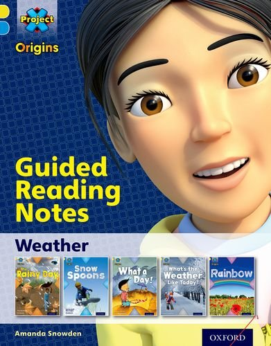 9780198301042: Project X Origins: Yellow Book Band, Oxford Level 3: Weather: Guided reading notes