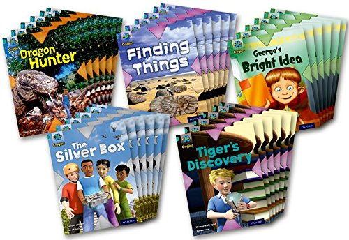 Project X Origins: Turquoise Book Band, Oxford Level 7: Discovery: Class Pack of 30 (Paperback): ...