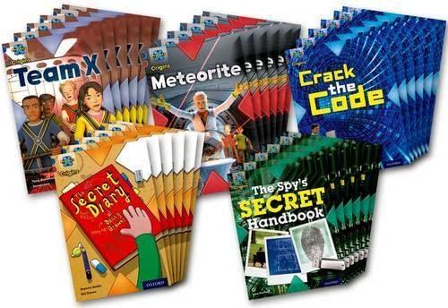 9780198303299: Project X Origins: Dark Blue Book Band, Oxford Level 15: Top Secret: Class Pack of 30