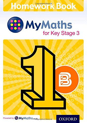 9780198304333: MyMaths for Key Stage 3: Homework Book 1B (Pack of 15)