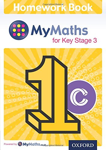 9780198304340: MyMaths for Key Stage 3: Homework Book 1C (Pack of 15)