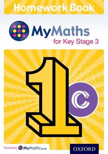 Mymaths for Ks3 Homework Book 1c Single: Plass