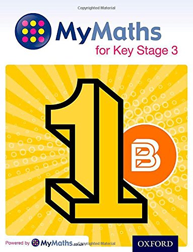 9780198304487: MyMaths for Key Stage 3: Student Book 1B