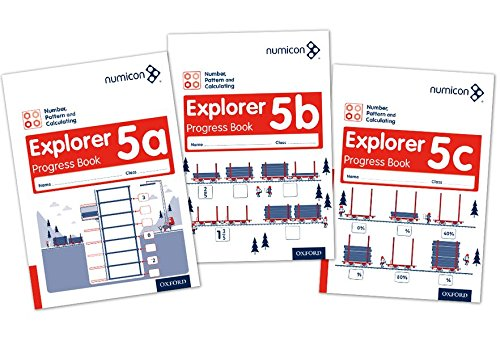 9780198304920: Numicon: Number, Pattern and Calculating 5 Explorer Progress Books ABC (Mixed pack)