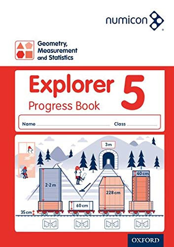 9780198304975: Numicon: Geometry, Measurement and Statistics 5 Explorer Progress Book (Pack of 30)