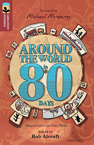 Image result for michael morpurgo around the world in 80 days