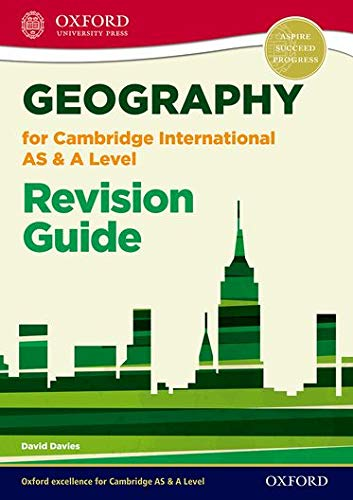 9780198307037: Geography for Cambridge International AS and A Level Revision Guide