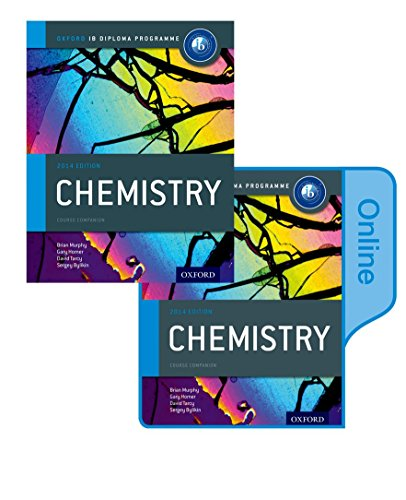 9780198307754: IB Chemistry Print and Online Course Book Pack 2014 edition: Oxford IB Diploma Program