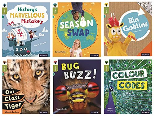 9780198307846: Oxford Reading Tree inFact: Level 7: Mixed Pack of 6
