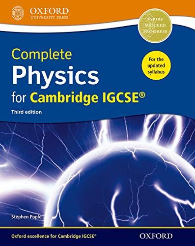 9780198308713: Complete Physics for Cambridge IGCSE ® Student book (Third edition) (Complete Science Igcse)