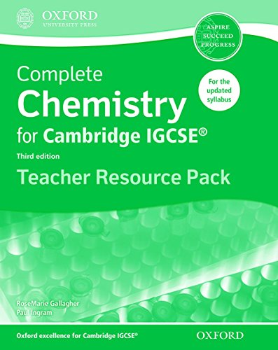 9780198308768: Complete Chemistry for Cambridge IGCSE (R) Teacher Resource Pack