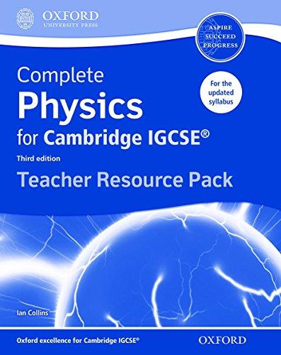 9780198308775: Complete Physics for Cambridge IGCSE (R) Teacher Resource Pack