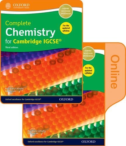 9780198310310: Complete Chemistry for Cambridge IGCSE Print and Online Student Book Pack