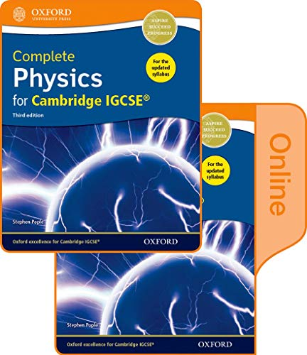 9780198310327: Complete Physics for Cambridge IGCSE� Print and Online Student Book Pack (Third edition)
