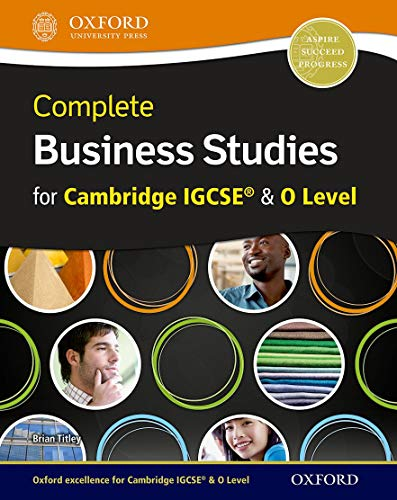 9780198310860: Complete Business Studies for Cambridge IGCSE® and O Level with CD-ROM