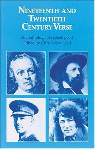 9780198312475: Nineteenth and Twentieth Century Verse: An Anthology of Sixteen Poets