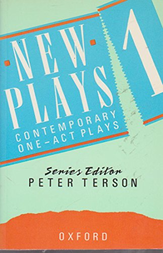 9780198312567: New Plays: v. 1