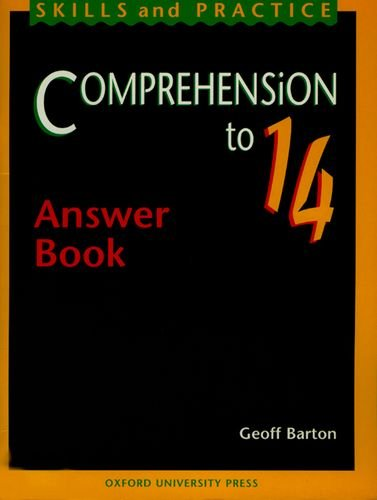 9780198314417: Comprehension to 14: Answer Book