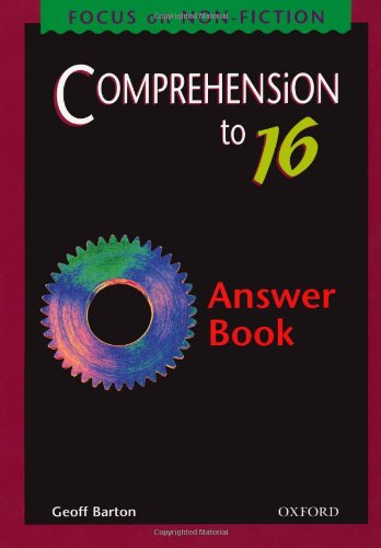 9780198314486: Comprehension to 16: Answer Book