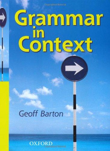 9780198314509: Grammar in Context: Students' Book