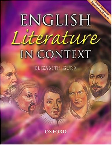 9780198314776: English Literature in Context