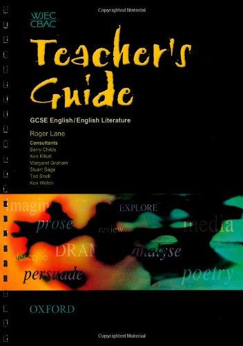 WJEC GCSE English/ English Literature Teacher's Guide: Welsh, Ken