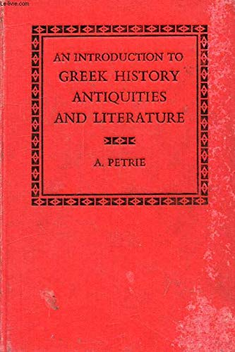 9780198315179: An Introduction to Greek History Antiquities and Literature