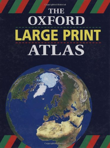 9780198318804: The Oxford Large Print Atlas