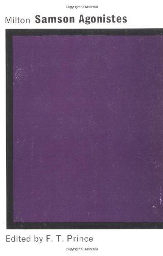 Samson Agonistes: Milton, John