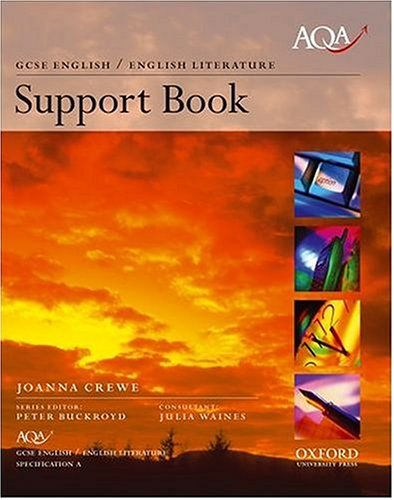 9780198320784: AQA English GCSE Specification  A: AQA A Support Book
