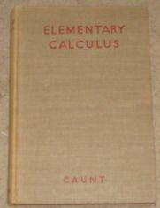 9780198325024: ELEMENTARY CALCULUS.