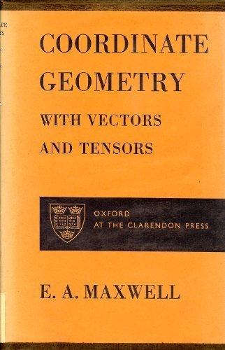 9780198325109: Elementary Coordinate Geometry