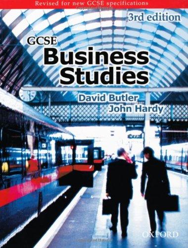 9780198328353: GCSE Business Studies