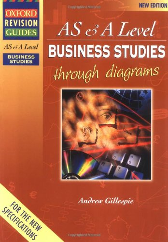 9780198328360: Advanced Business Studies Through Diagrams (Oxford Revision Guides)