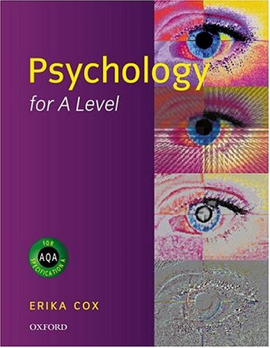 9780198328384: Psychology for A-level (Psychology for AQA specification A)