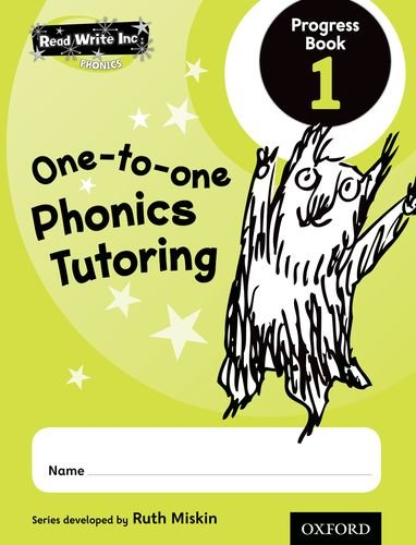 9780198330851: Read Write Inc.: Phonics: One-to-One Phonics Tutoring Progress Book 1 Pack of 5