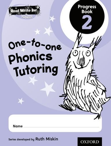 9780198330875: Read Write Inc.: Phonics One-to-One Phonics Tutoring Progress Book 2 Pack of 5